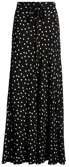 Free People print maxi skirt | 40plusstye.com