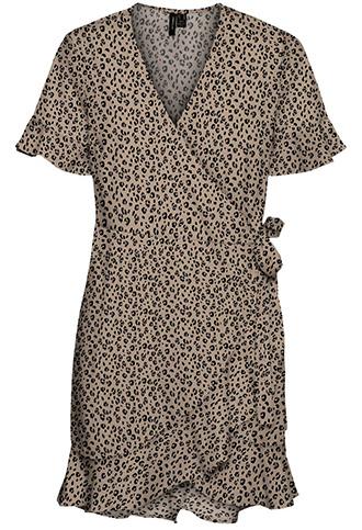 VERO MODA frill wrap dress   40plusstyle.com