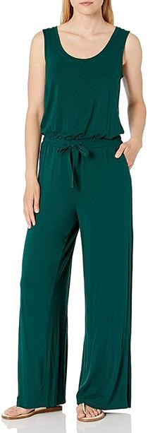 Amazon Essentials Sleeveless Wide Leg Jumpsuit | 40plusstyle.com