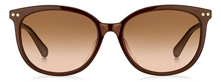 Kate Spade New York Alina Gradient Cat Eye Sunglasses   40plusstyle.com
