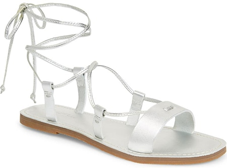 Madewell The Boardwalk Lace-Up Sandal | 40plusstyle.com