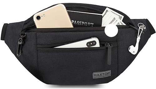 MAXTOP large fanny pack | 40plusstyle.com