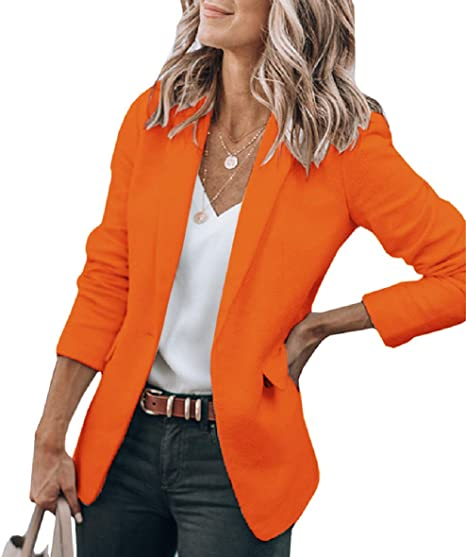 Cicy open front blazer   40plusstyle.com