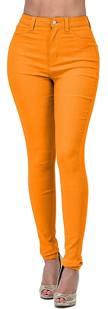 Lover Brand Fashion skinny jeans | 40plusstyle.com
