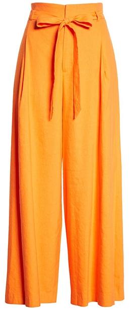 Orange pants   40plusstyle.com