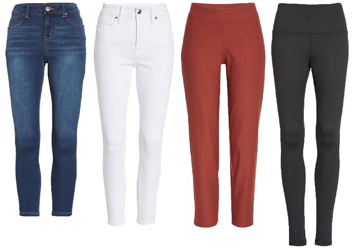 Bottoms to wear with tunics and short dresses   40plusstyle.com