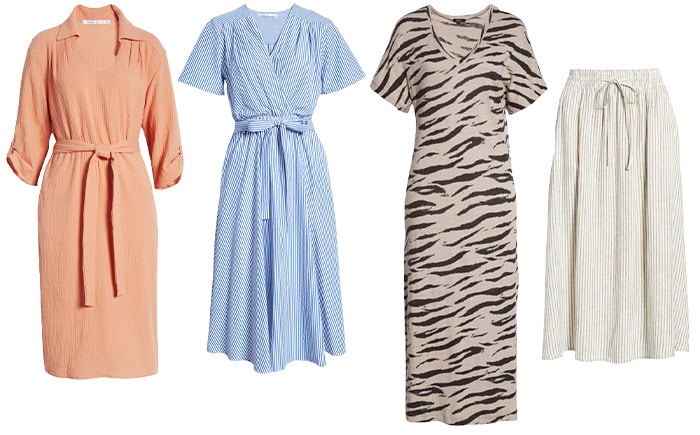 Dresses and skirts to wear to a picnic | 40plusstyle.com