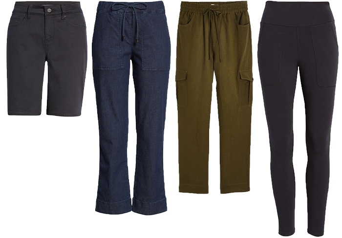 Jeans and pants to wear to a picnic   40plusstyle.com