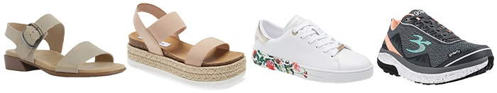 Sneakers and sandals to wear to a picnic   40plusstyle.com