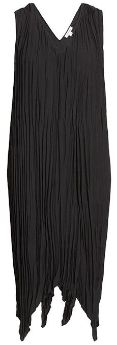 Nordstrom pleated midi dress   40plusstyle.com