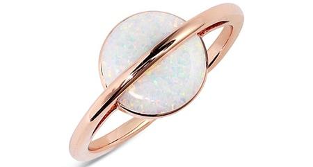 Pura Vida Opal Saturn Ring   40plusstyle.com