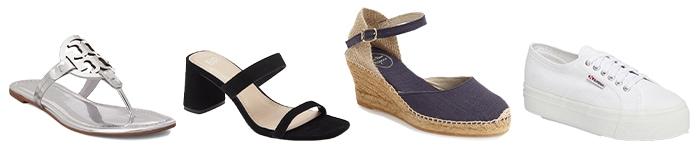 Shoes for maxi dresses | 40plusstyle.com