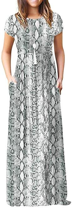 VIISHOW maxi dress | 40plusstyle.com