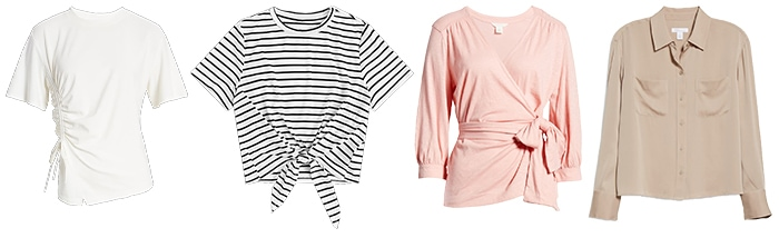 Tops to wear with capris | 40plusstyle.com