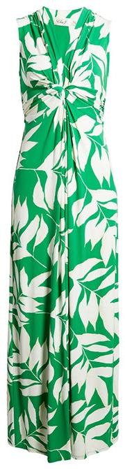 Eliza J twist front maxi dress | 40plusstyle.com