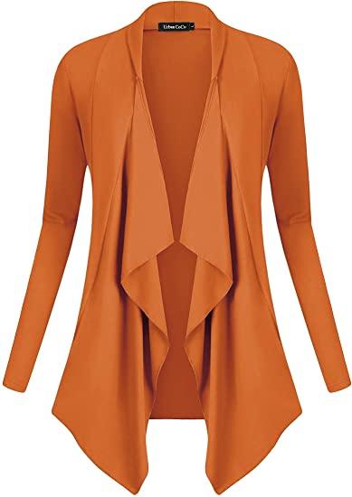 Urban CoCo drape front cardigan | 40plusstyle.com