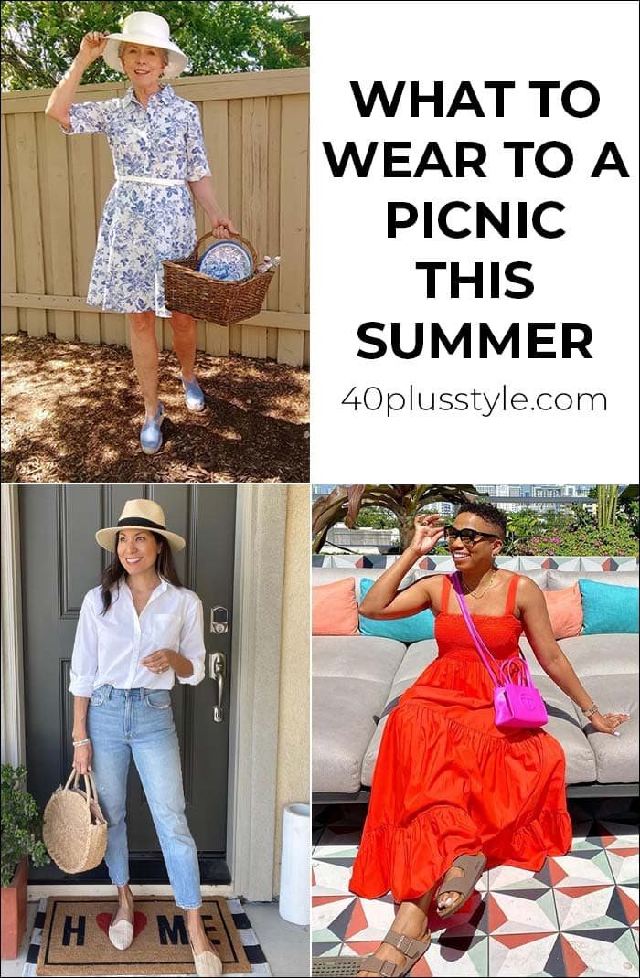 What to wear to a picnic this summer with the best picnic outfits to choose from   40plusstyle.com