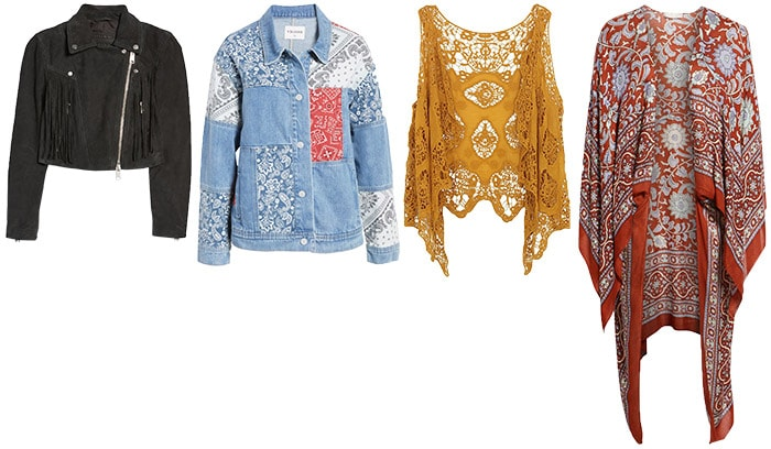 Jackets for the bohemian style personality | 40plusstyle.com