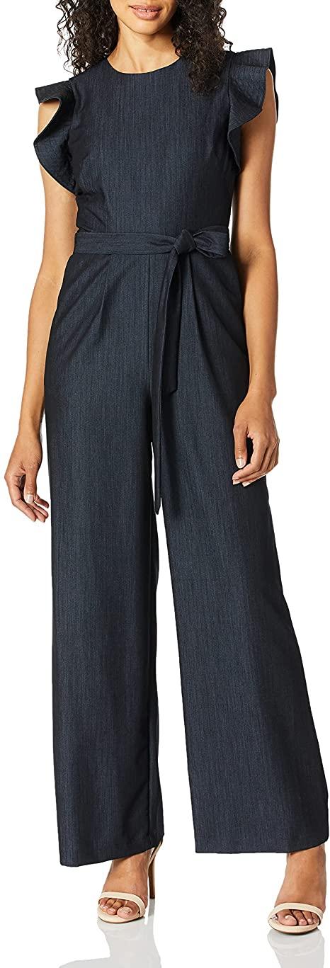 Amazon prime fashion - mono Calvin Klein con cinturón y mangas onduladas |  40plusstyle.com