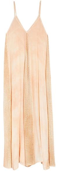 Elan crochet maxi dress | 40plusstyle.com