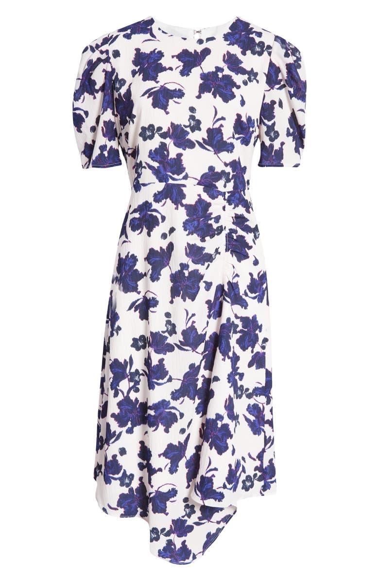 Halogen Asymmetrical Midi Dress | 40plusstyle.com