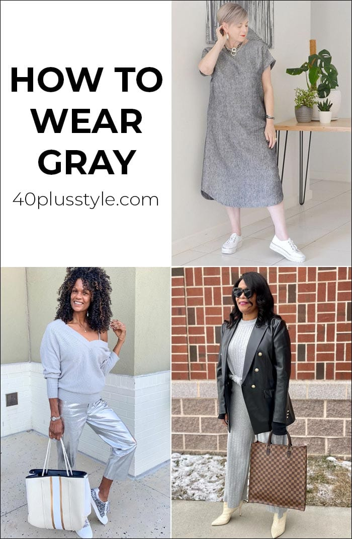 How to wear gray: Color palettes and ensembles for you to choose from   40plusstyle.com