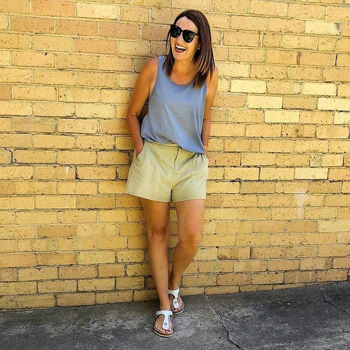 Karen in Birkenstocks | 40plusstyle.com