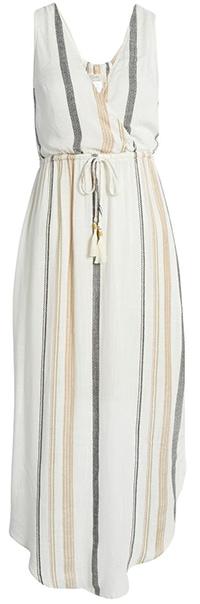L Space stripe dress | 40plusstyle.com