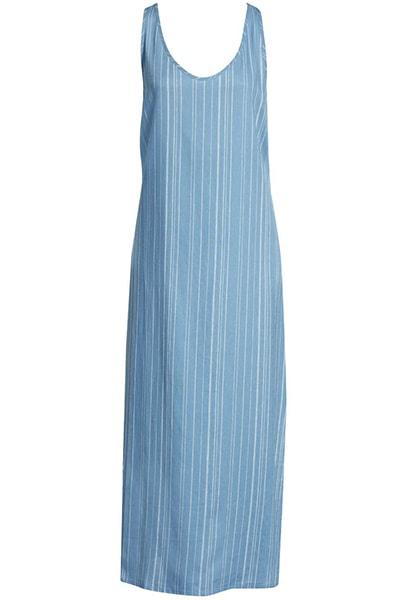 Summer dresses for women over 50 -Nordstrom Linen Tank Maxi Dress | 40plusstyle.com