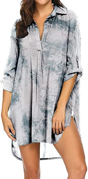 Bathing suit cover ups - Ekouaer cover-up | 40plusstyle.com
