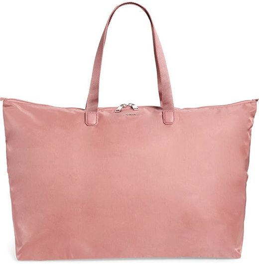 TUMI Voyageur Just In Case® Packable Nylon Tote | 40plusstyle.com