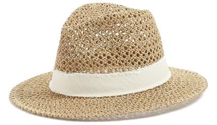 Treasure & Bond Women's Open Weave Panama Hat   40plusstyle.com