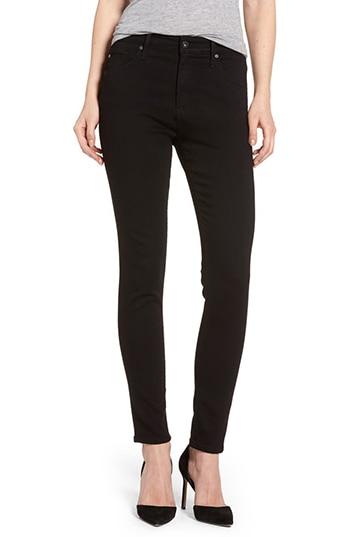 AG Farrah High Waist Ankle Skinny Jeans | 40plusstyle.com
