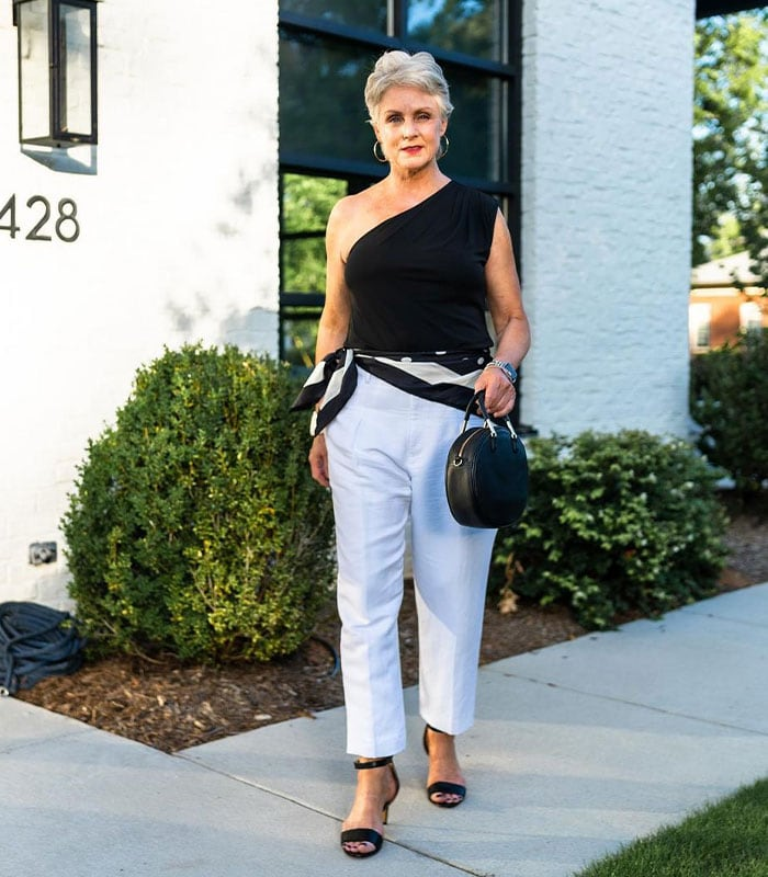 Shoes to pair with straight leg pants   40plusstyle.com