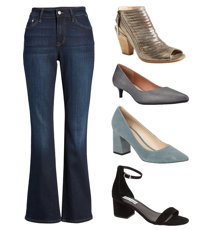 Bootcut pants and shoe styles   40plusstyle.com