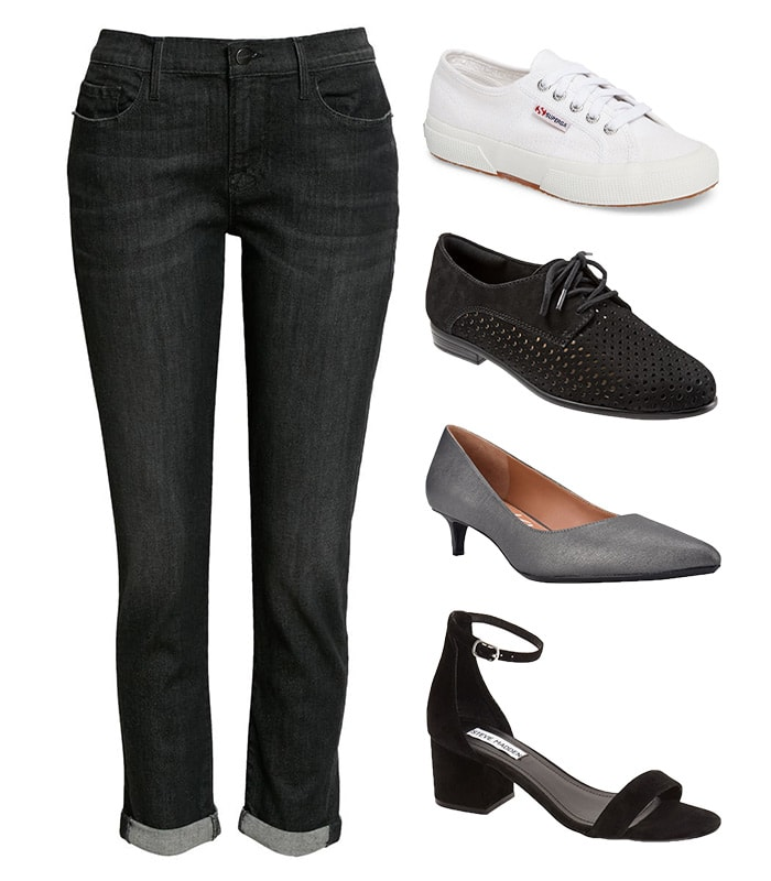 Shoes for boyfriend style pants   40plusstyle.com