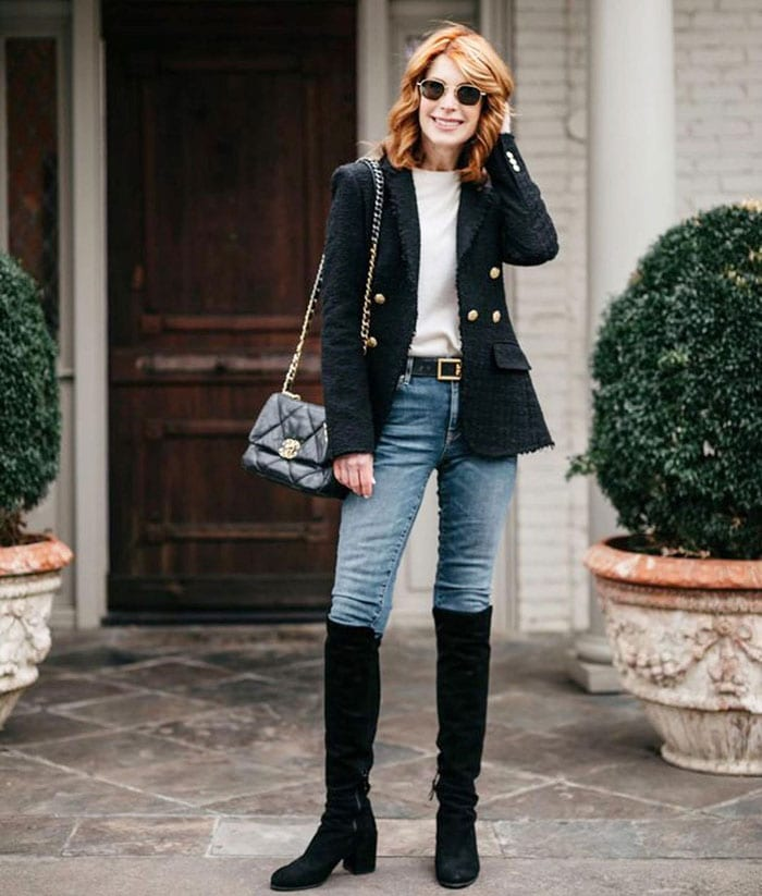 The best shoes to pair with skinny pants   40plusstyle.com