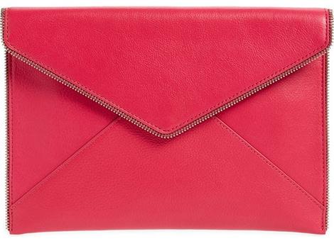 Rebecca Minkoff envelope clutch | 40plusstyle.com