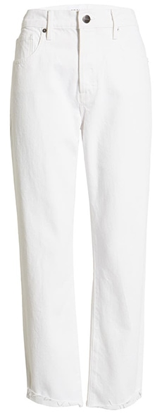 FRAME straight leg jeans | 40plusstyle.com