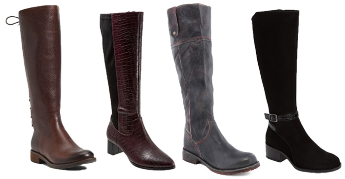 Knee high boots to wear with pants   40plusstyle.com