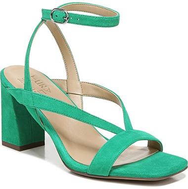 Naturalizer block heel sandal   40plusstyle.com