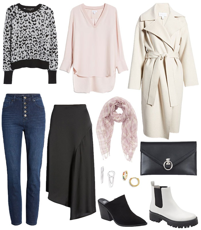 A fall 2021 capsule wardrobe FROM THE nORDSTROM ANNIVERSARY SALE