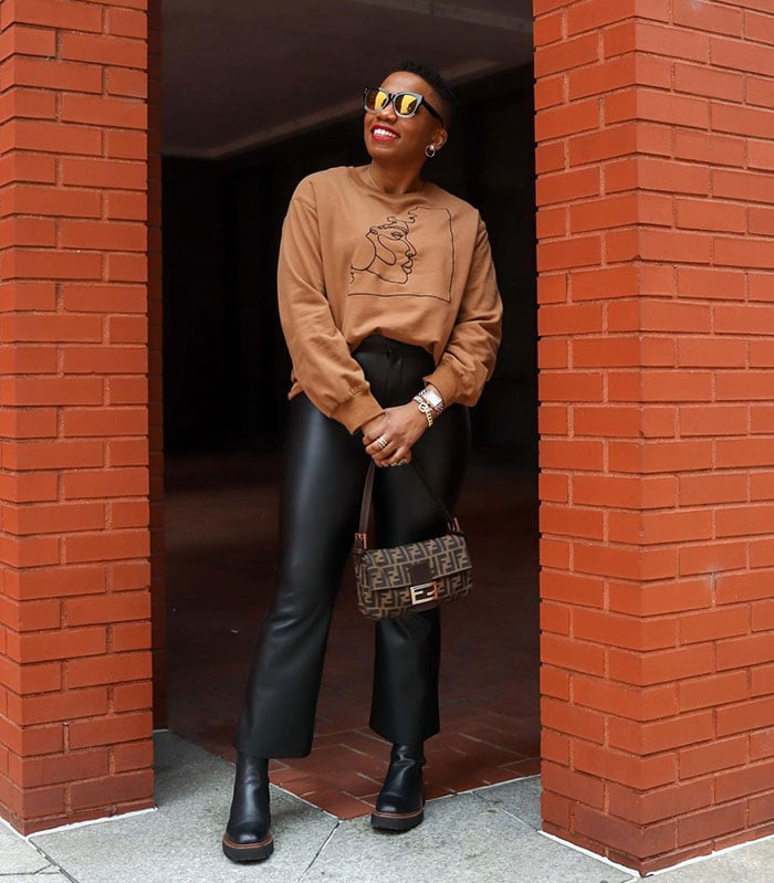The best shoes to pair with cropped flare pants   40plusstyle.com