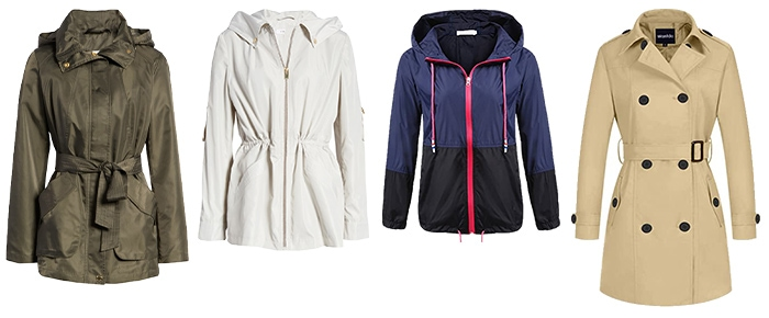 jackets to wear on a rainy day | 40plusstyle.com