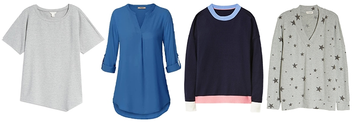 tops to wear on a rainy day | 40plusstyle.com