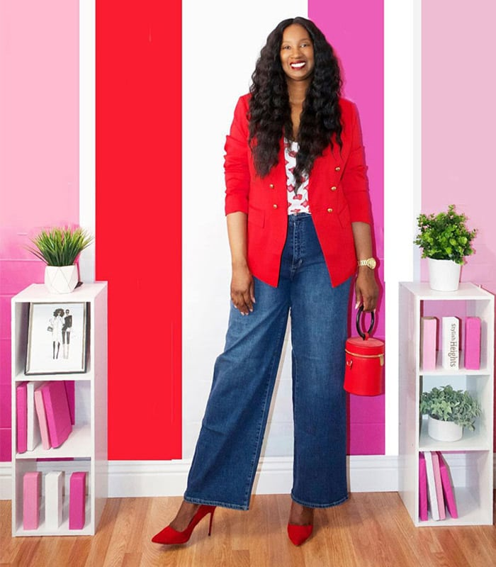 Shoes to wear with wide leg pants | 40plusstyle.com