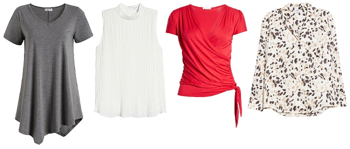 tops to go with black pants | 40plusstyle.com