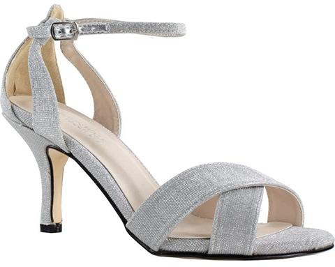 Touch Ups glitter sandal | 40plusstyle.com
