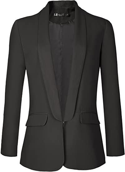 Urban CoCo open front blazer | 40plusstyle.com