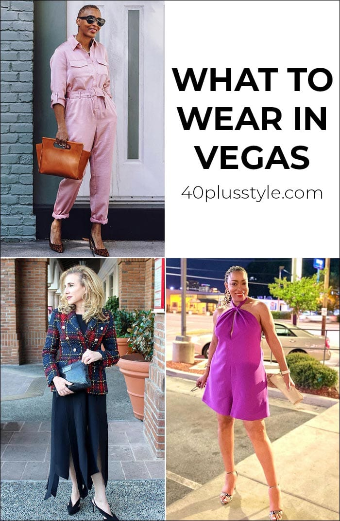 What to wear in Vegas for daytime and evening | 40plusstyle.com